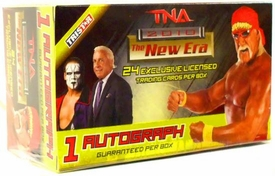 Tristar TNA Wrestling 2010 New Era Trading Cards Value Box [Special Hulk Hogan Bonus Card]