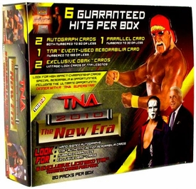 Tristar TNA Wrestling 2010 New Era Trading Cards Booster BOX [20 Packs]