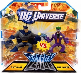 DC Universe Action League Mini Figure 2-Pack Batman Vs. The Joker