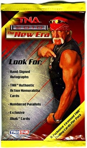 Tristar TNA Wrestling 2010 New Era Trading Cards Booster Pack