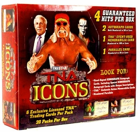 Tristar TNA Wrestling 2010 Icons Trading Cards Booster BOX [20 Packs]
