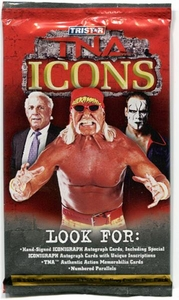 Tristar TNA Wrestling 2010 Icons Trading Cards Booster Pack
