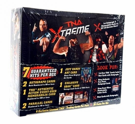 Tristar TNA Xtreme Wrestling Trading Cards Hobby Box [20 Packs] Only 100 Cases Produced!