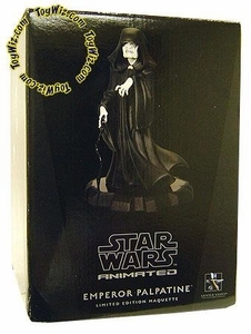 Star Wars Gentle Giant Limited Edition Maquette Statue Clone Wars Style Emperor Palpatine