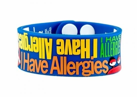 AllerMates Allergy Awareness Wristband I Have Allergies [Size M/L] BLOWOUT SALE!