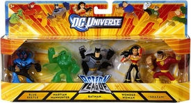 DC Universe Exclusive Action League Mini Figure 5-Pack [Batman, Wonder Woman, Shazam, Martian Manhunter & Blue Beetle]