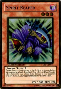 YuGiOh Gold Series 4 2011 Single Card Gold Rare GLD4-EN011 Spirit Reaper