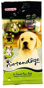 Nintendo Nintendogs 6-Card Booster Fun Pack BLOWOUT SALE!