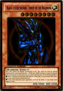 YuGiOh Gold Series 4 2011 Single Card Gold Rare GLD4-EN013 Black Luster Soldier - Envoy of the Beginning
