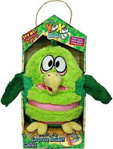 KooKoo Birds 6 Inch Plush Wide Eyed, Hook Billed Lollapalooza