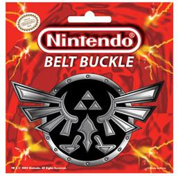 Legend of Zelda Belt Buckle Triforce [Black Background]