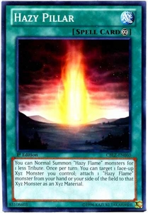 YuGiOh Zexal Cosmo Blazer Single Card Common CBLZ-EN060 Hazy Pillar