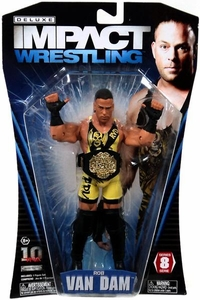 TNA Wrestling Deluxe Impact Series 8 Action Figure  Rob Van Dam