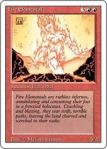 Magic the Gathering Revised Edition Single Card Uncommon Fire Elemental
