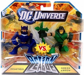 DC Universe Action League Mini Figure 2-Pack Prometheus Vs. Green Arrow