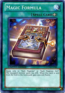 YuGiOh Gold Series 4 2011 Single Card Common GLD4-EN044 Magic Formula