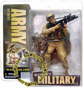 McFarlane Toys Military Soldiers REDEPLOYED Series 2 Action Figure Army Infantry (*Random Ethnicity)