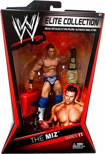 Mattel WWE Wrestling Elite Series 11 Action Figure The Miz [Championship Belt!]