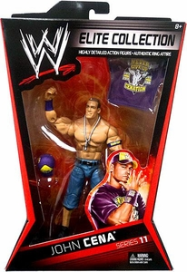 Mattel WWE Wrestling Elite Series 11 Action Figure John Cena BLOWOUT SALE!
