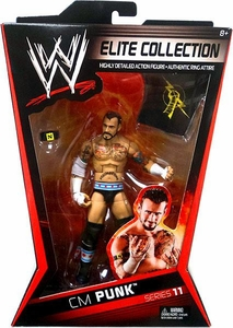 Mattel WWE Wrestling Elite Series 11 Action Figure CM Punk Best in the World!