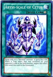 YuGiOh Zexal Cosmo Blazer Single Card Common CBLZ-EN061 Abyss-scale of Cetus