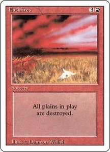 Magic the Gathering Revised Edition Single Card Uncommon Flashfires