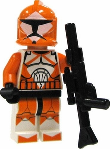 LEGO Star Wars LOOSE Mini Figure EPII Clone Wars 212 Attack Battalion Clone Trooper with Blaster Rifle