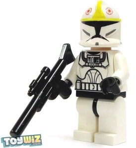 LEGO Star Wars LOOSE Clone Wars Mini Figure Clone Pilot with Blaster Rifle