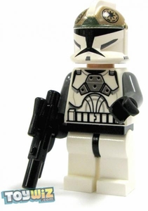 LEGO Star Wars LOOSE Mini Figure EPII Clone Wars Clone Gunner with Blaster