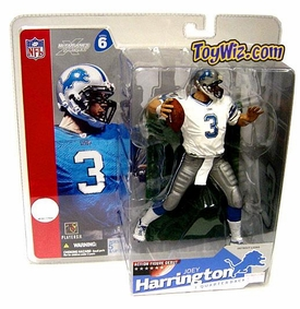 McFarlane Toys NFL Sports Picks Series 6 Action Figure Joey Harrington (Detroit Lions) White Jersey Variant