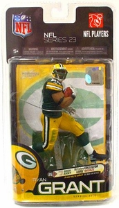 McFarlane Toys NFL Sports Picks Series 23 Action Figure Ryan Grant (Green Bay Packers) Green Jersey Bronze Collector Level Chase Only 3,000 Made!