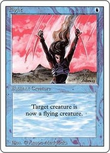 Magic the Gathering Revised Edition Single Card Common Flight