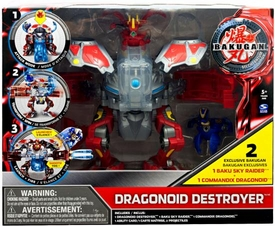 Bakugan Mechtanium Surge Battle Suit Figure Dragonoid Destroyer