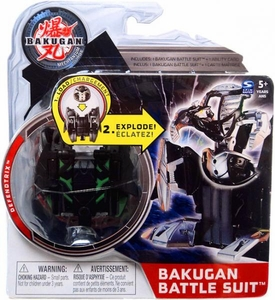 Bakugan Mechtanium Surge Battle Suit Black Defendtrix