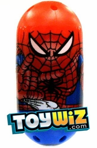 Mighty Beanz Marvel Common Single Bean #1 Spider-Man [Red & Blue]