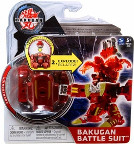 Bakugan Mechtanium Surge Battle Suit Red Doomtronic