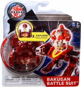 Bakugan Mechtanium Surge Battle Suit Red Combustoid