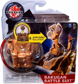 Bakugan Mechtanium Surge Battle Suit Brown Fortatron BLOWOUT SALE!