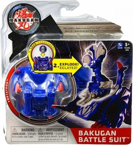 Bakugan Mechtanium Surge Battle Suit Blue Fortatron