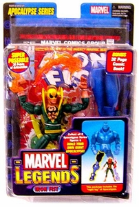 Marvel Legends Series 12 Action Figure Iron Fist [Apocalypse Build-A-Figure]