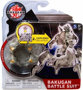 Bakugan Mechtanium Surge Battle Suit Gray Clawbruk