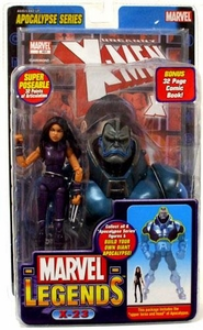 Marvel Legends Series 12 Action Figure X-23 {Purple Suit} [Apocalypse Build-A-Figure]