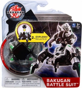 Bakugan Mechtanium Surge Battle Suit Black Clawbruk