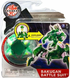 Bakugan Mechtanium Surge Battle Suit Green Clawbruk