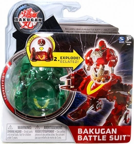 Bakugan Mechtanium Surge Battle Suit Green Combustoid