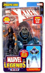 Marvel Legends Series 12 Action Figure X-23 {Black Suit Variant} [Apocalypse Build-A-Figure]