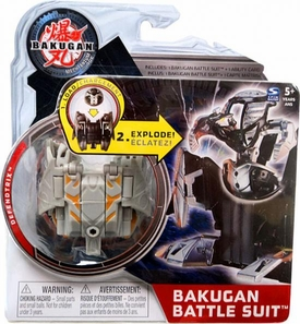 Bakugan Mechtanium Surge Battle Suit Gray Defendtrix