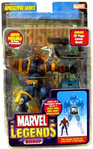 Marvel Legends Series 12 Action Figure Bishop Shaved Head Variant [Apocalypse Build-A-Figure]