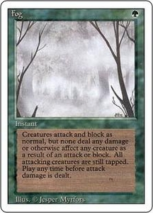 Magic the Gathering Revised Edition Single Card Common Fog