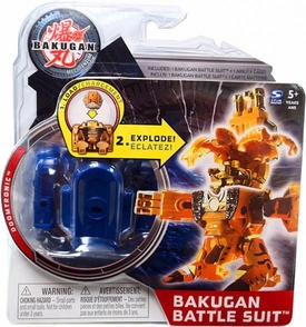 Bakugan Mechtanium Surge Battle Suit Blue Doomtronic
